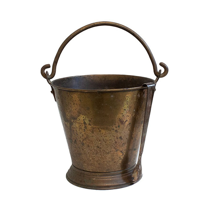 Antique French Brass Ice Bucket