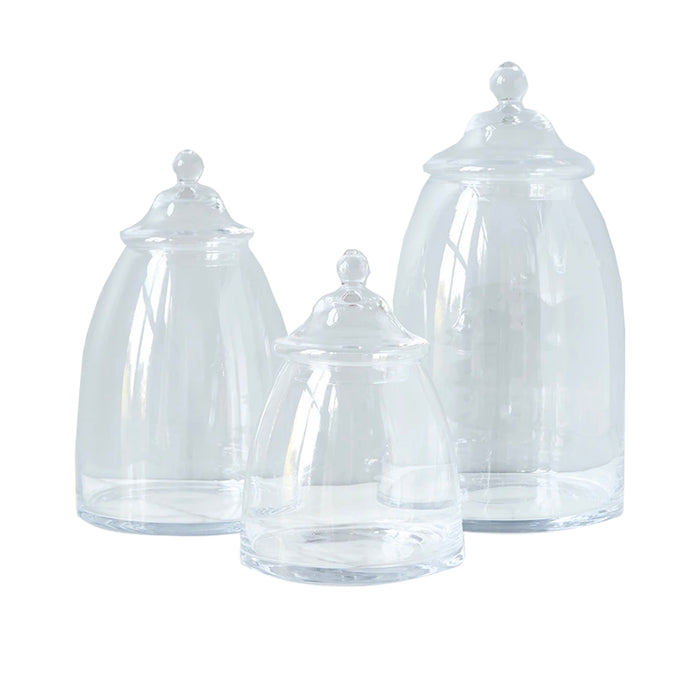 Glass Bon Bon Jar