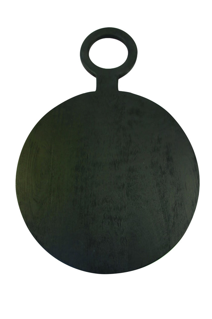 BRUSHED BLACK ROUND BOARD LARGE