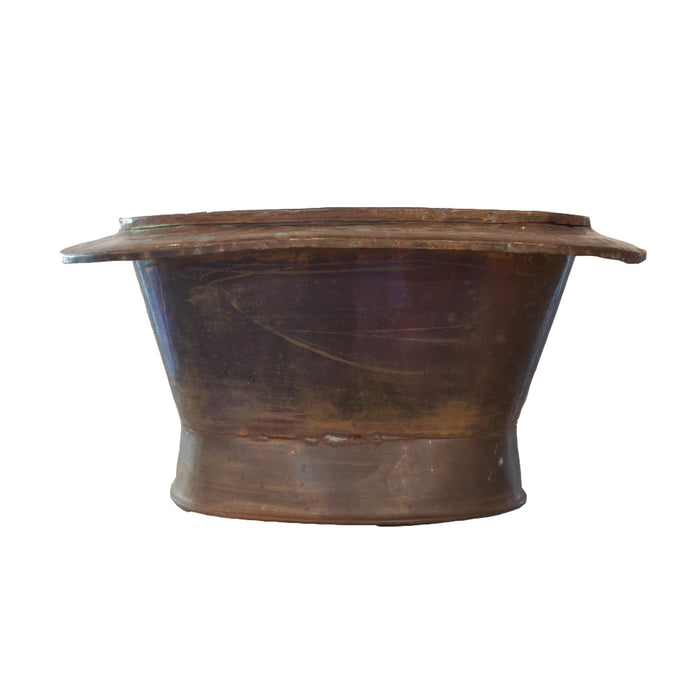 Antique French Copper Champagne Basin