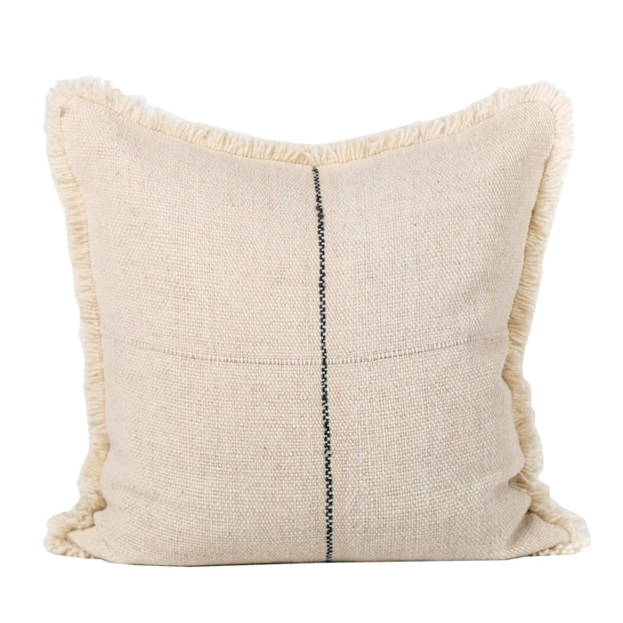 Karu Pillow - White/Black