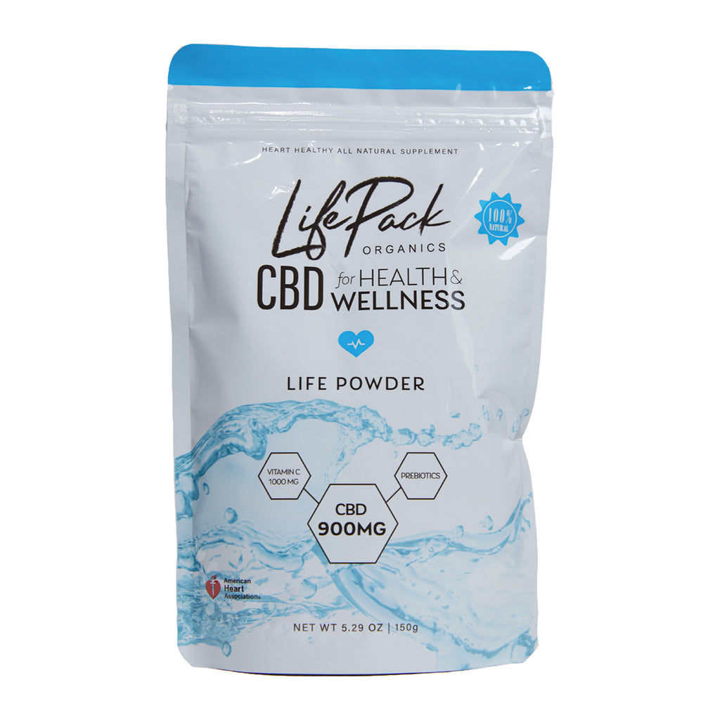 Hemp Extract Life Powder - LifePack Organics