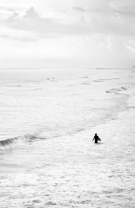 | THE LONE SURFER |