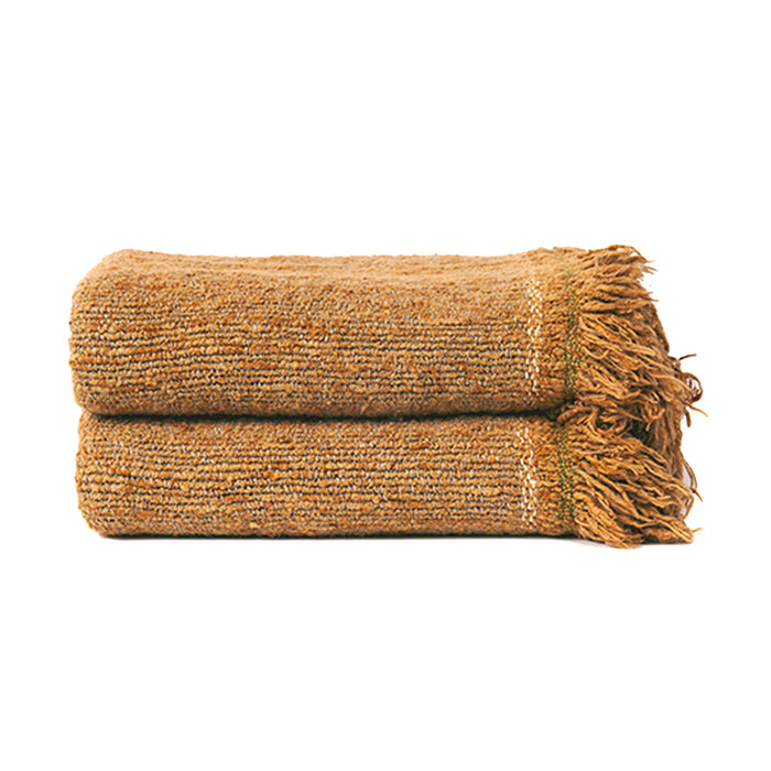 Nomad Belgian Throw - Camel