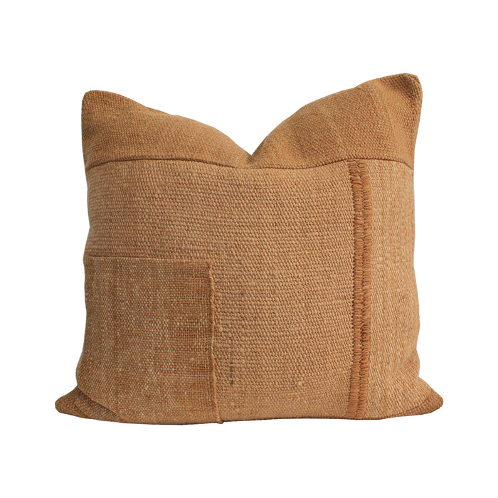 Makun Patchwork Pillow - Elm Bark