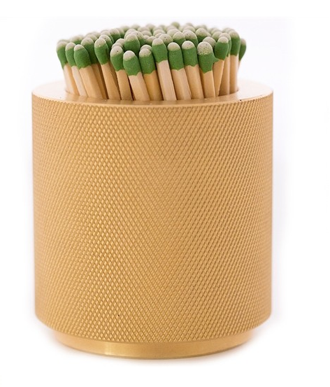 Brass Match Scratcher Small