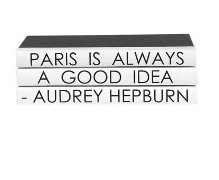 Audrey Hepburn 3 Volume Quote Book Stack