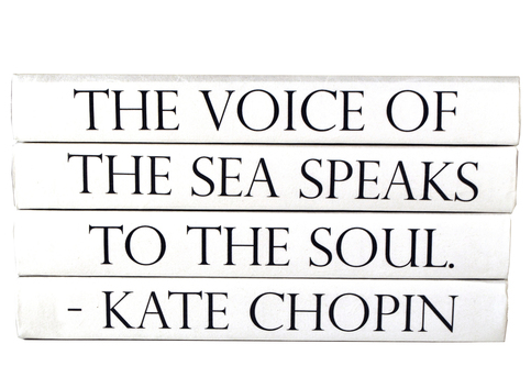 Kate Chopin 4 Volume Quote Book Stack
