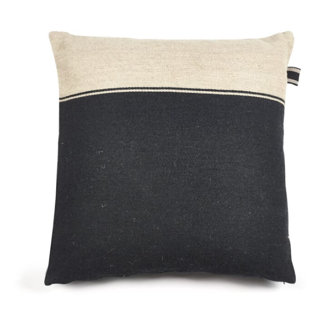 Marshall Black Flax Pillow