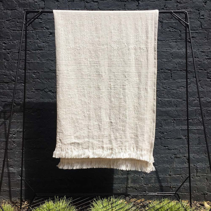 Belgian Linen Throw Oujda