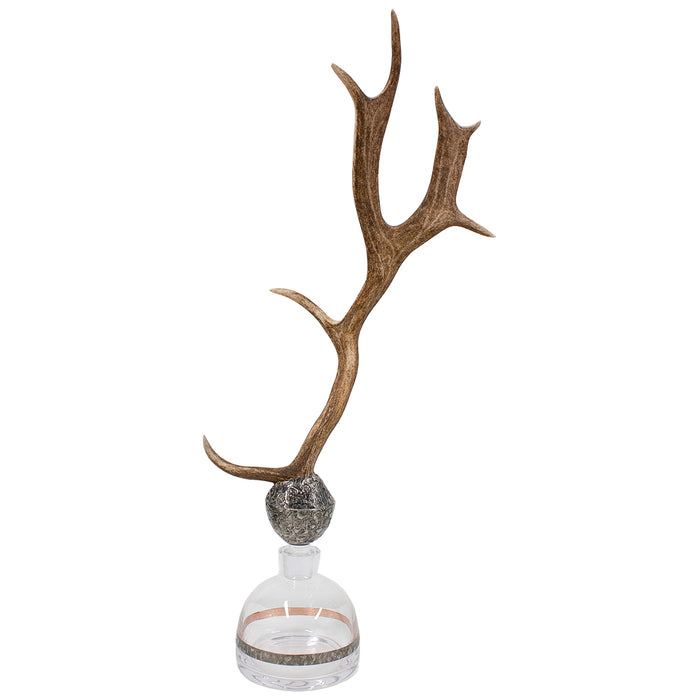 #150 CF Antler Decanter