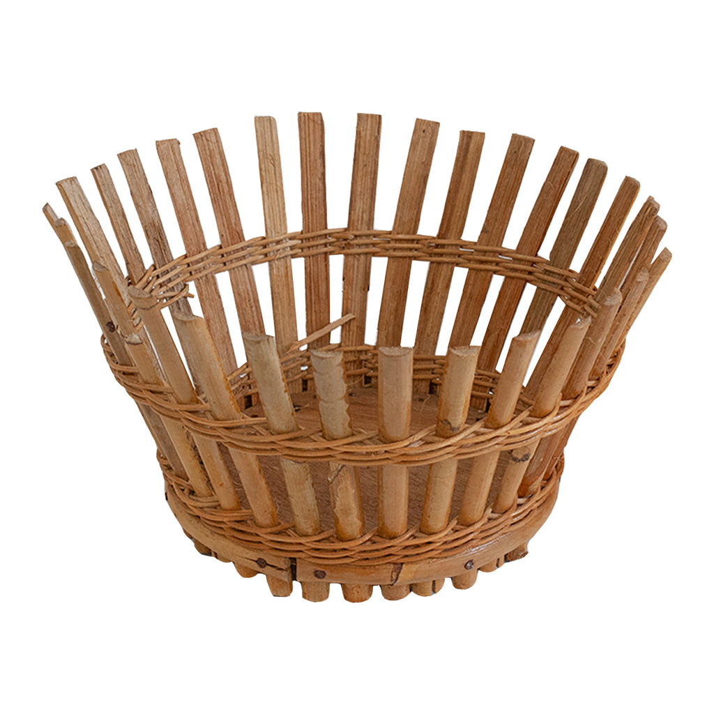 Antique French Reed Baskets