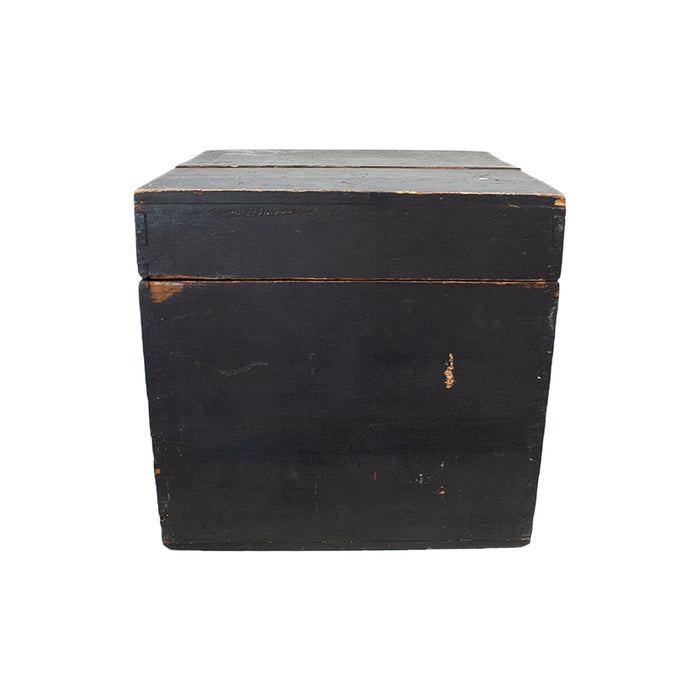 Antique French Black Box