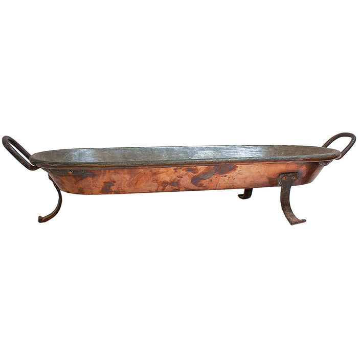 Vintage French Copper Tray
