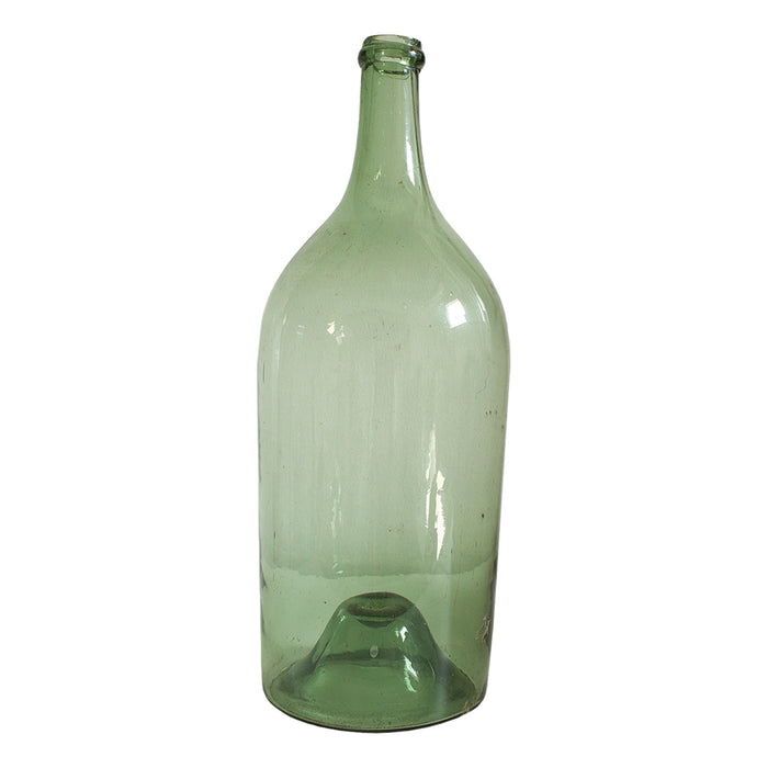 Antique French Green Bottles