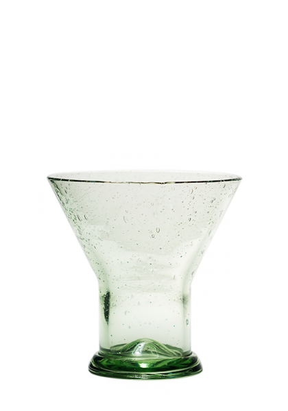 HAND BLOWN  GLASS FUNNEL