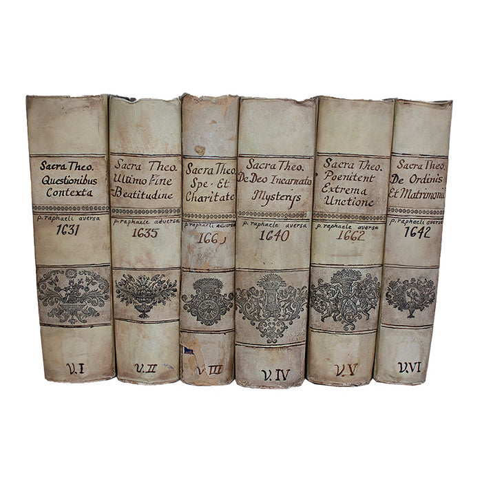Vellum 6 Volume Book Set 1631-1662