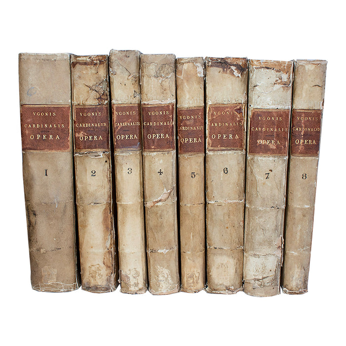Vellum 8 Volume Book Set 1600