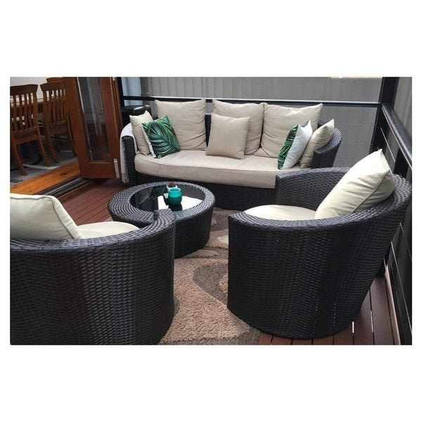 ATHENA - DAYBED LOUNGE 4 PIECE SETTING - The Wicker Man - 1
