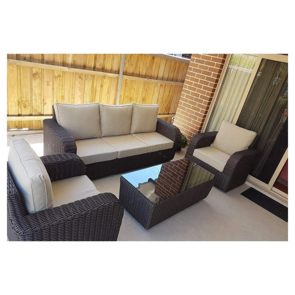 BURWOOD - 4 Piece LOUNGE SETTING - The Wicker Man - 3