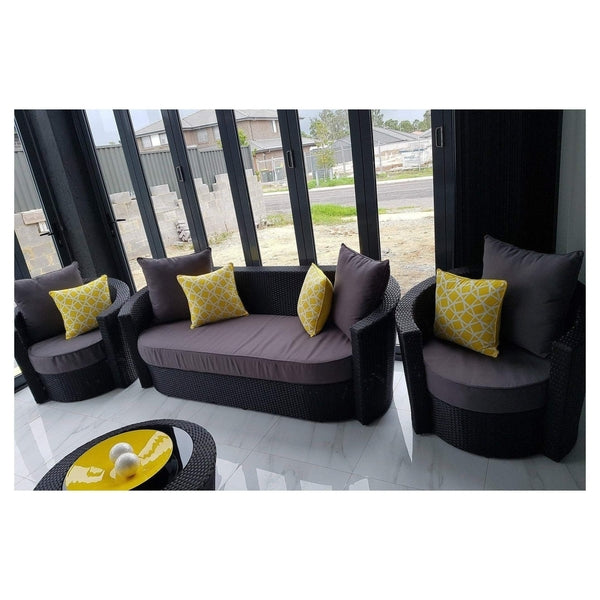 ATHENA - DAYBED LOUNGE 4 PIECE SETTING