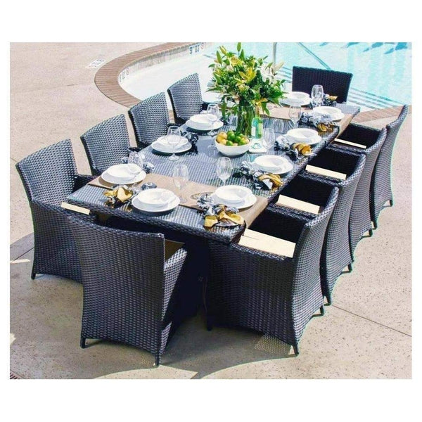 NEW ARRIVAL - SANTORINI 10 OUTDOOR DINING SETTING