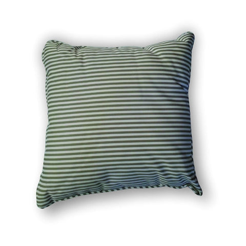 Cushion -  Green stripes