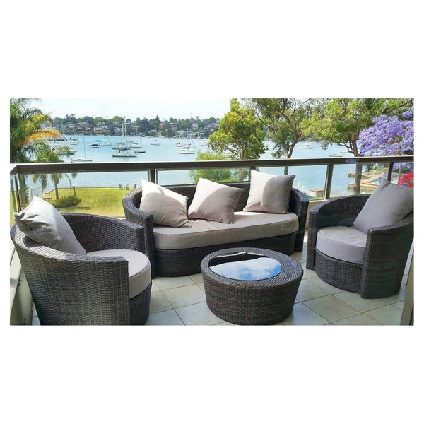 Captivating ATHENA   DAYBED LOUNGE 4 PIECE SETTING   The Wicker Man   14 Part 7