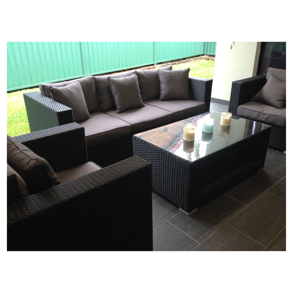 BASILIO OUTDOOR LOUNGE SETTING