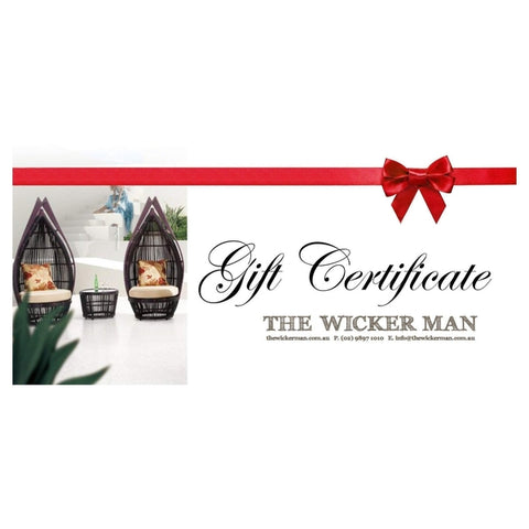 GIFT CERTIFICATE   The Wicker Man   1 ... Part 91
