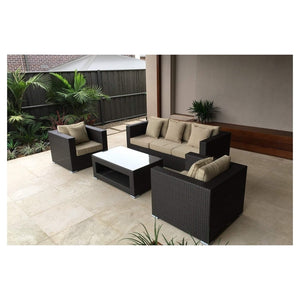 BASILIO OUTDOOR LOUNGE SETTING - The Wicker Man - 1