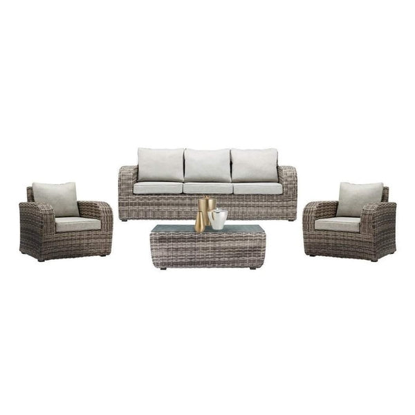 BURWOOD - 4 Piece LOUNGE SETTING - The Wicker Man - 5