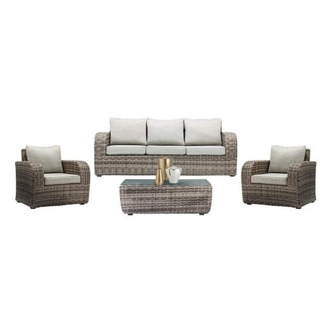 BURWOOD - 4 Piece LOUNGE SETTING - The Wicker Man - 1