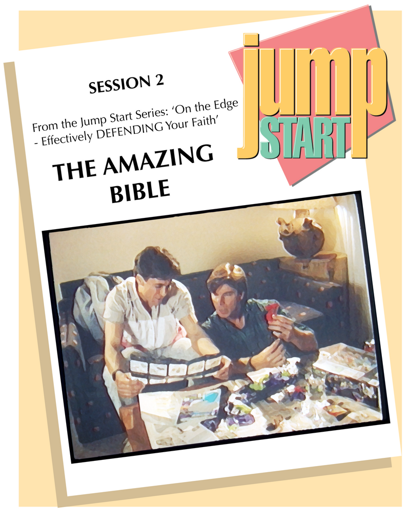 JUMP START (Single Lesson): EDGE 2A - The Amazing Bible (Study Guide)