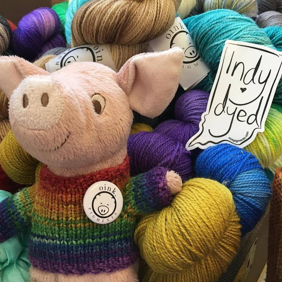 Roy G Pig and Oink Pigments Trunk Show