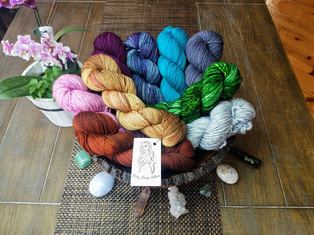 3 Month Pre-pay (Kitty Pride Fibers Yarn Membership)