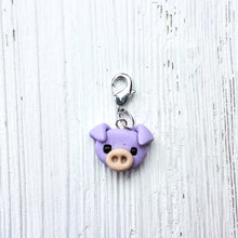 Piggie Stitch Markers/Progress Keeper (The Knit Twit)