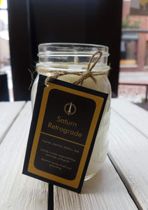 Saturn Retrograde Candle (Solis Illuminatum)