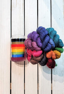 Inclusive Rainbow Pigtail Set (Oink Pigments)