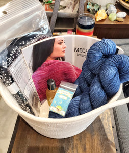 Dye Hard Yarns 2020 Crawl Raffle Basket