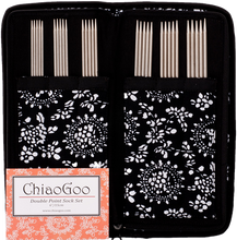 Chiaogoo Stainless Steel Double Points Sock Set