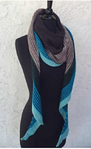 Baah Kits - Crescent Shawl