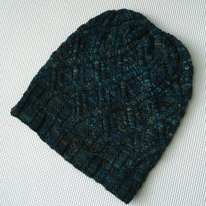 Oil Beetle Hat & Frozen Pond Cowl