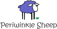 WOLKE (The Periwinkle Sheep)