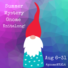Summer Mystery Gnome! MKAL (Kitty Pride Fibers)