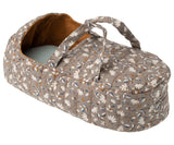 Grey Rhino in Ocher Print Carrycot