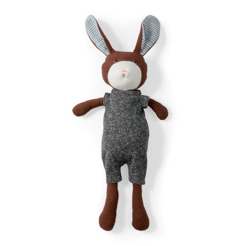 Hazel Village Lucas Rabbit in Stormy Romper