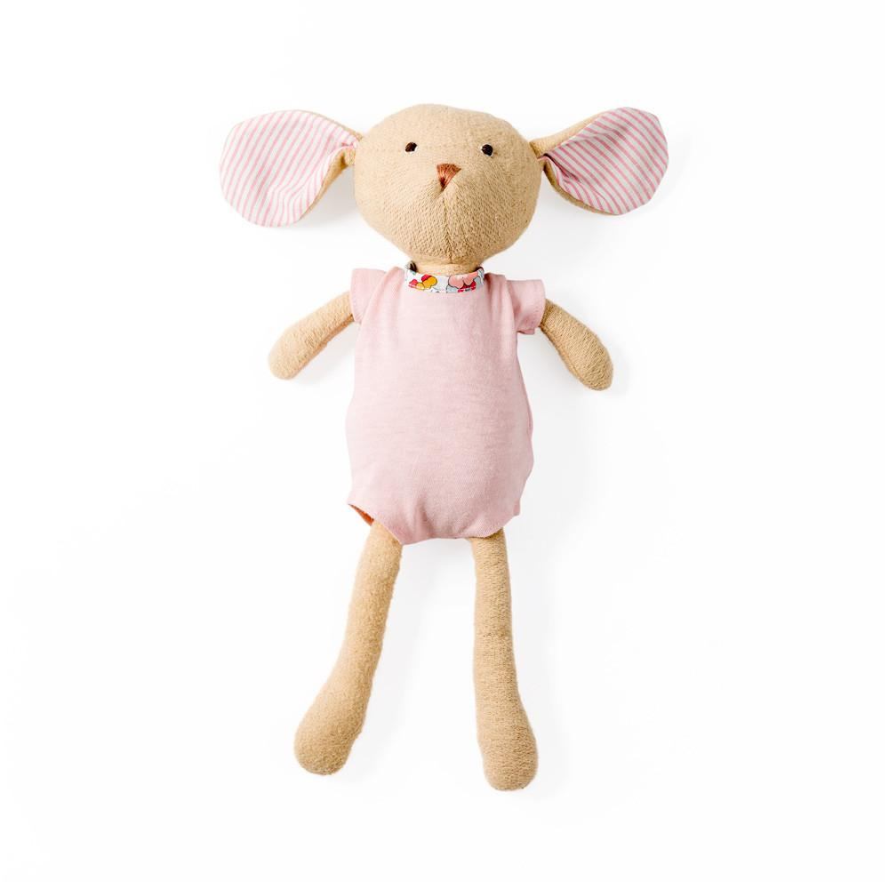 Hazel Village Annicke Mouse in Rose Romper