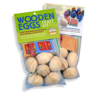Wooden Eggs Craft Kit