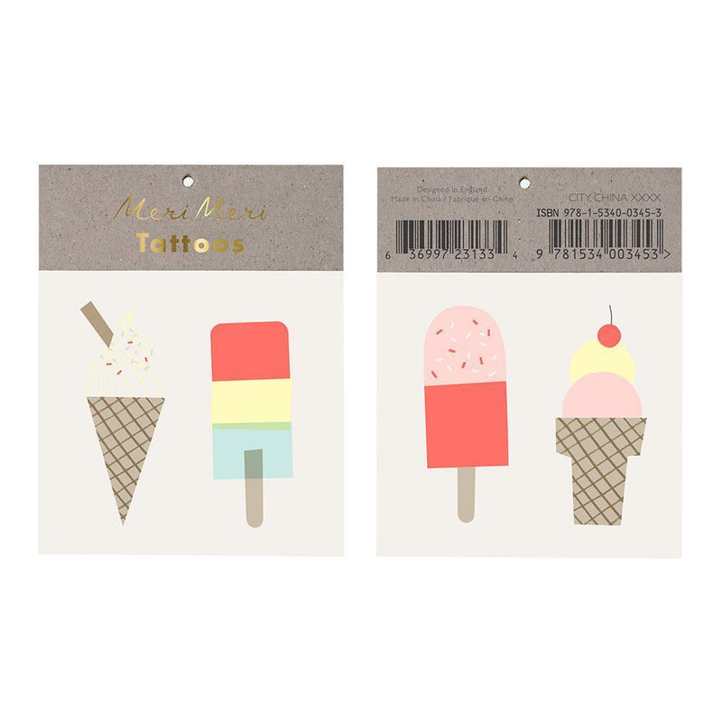 Meri Meri Ice Lolly Tattoos
